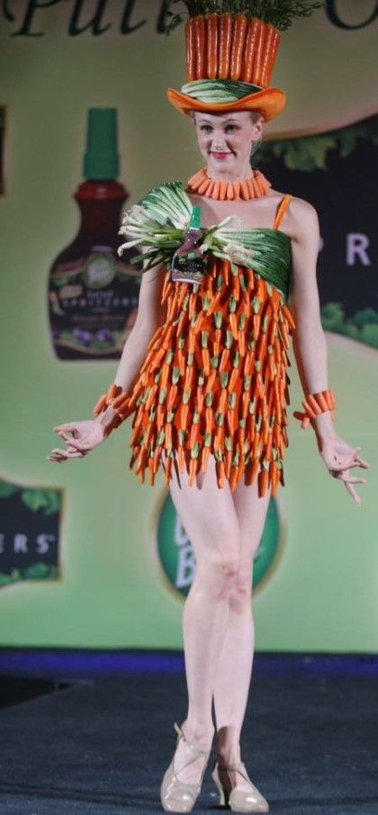 사진모음 - 야채로 만든 드레스 : 네이버 블로그
