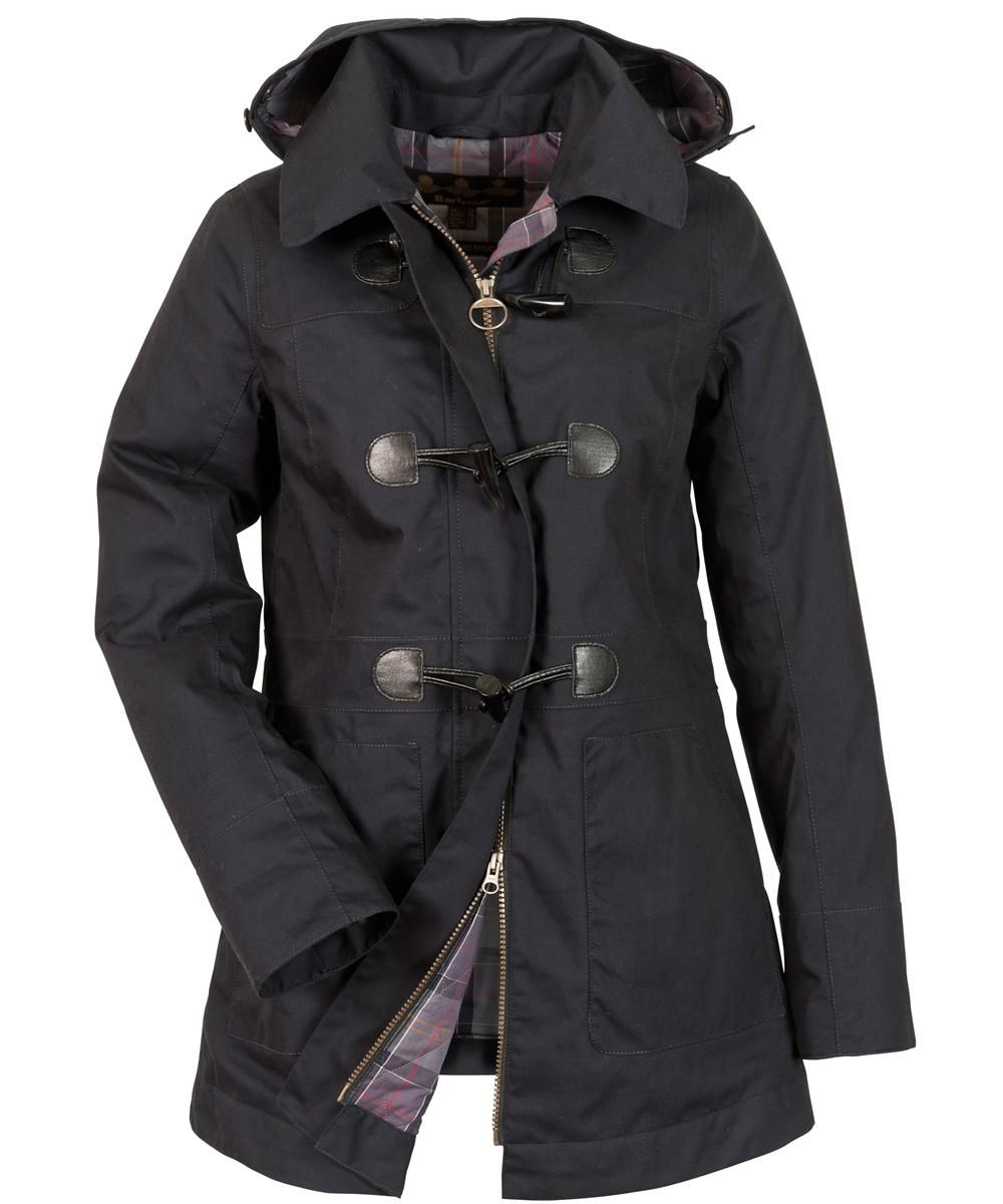 Womens Barbour Buttermere Duffle Coat - Navy Sale | Dress Me ...