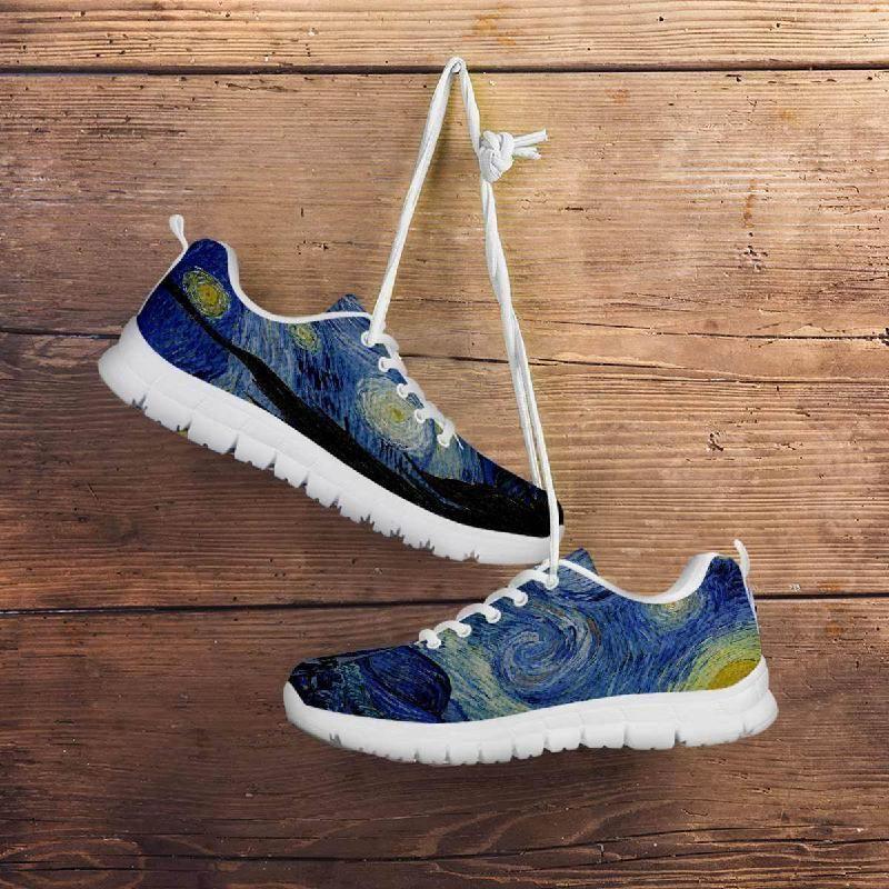 Starry Night Sneakers Women | Sneakers, Women, Running shoes