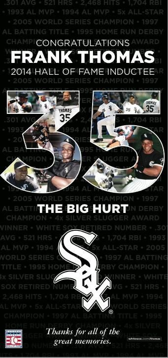 This is the ad The Chicago White Sox will put in the Chicago