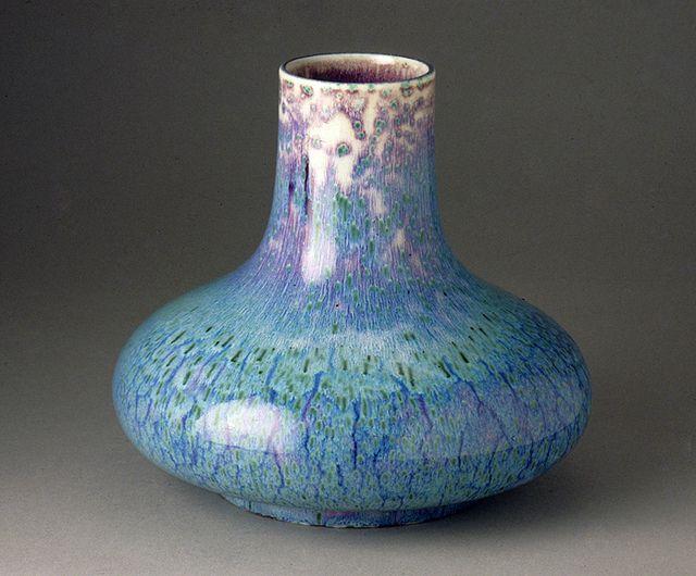 Ruskin Vase Ceramicspottery Pinterest Pottery And Pottery Art