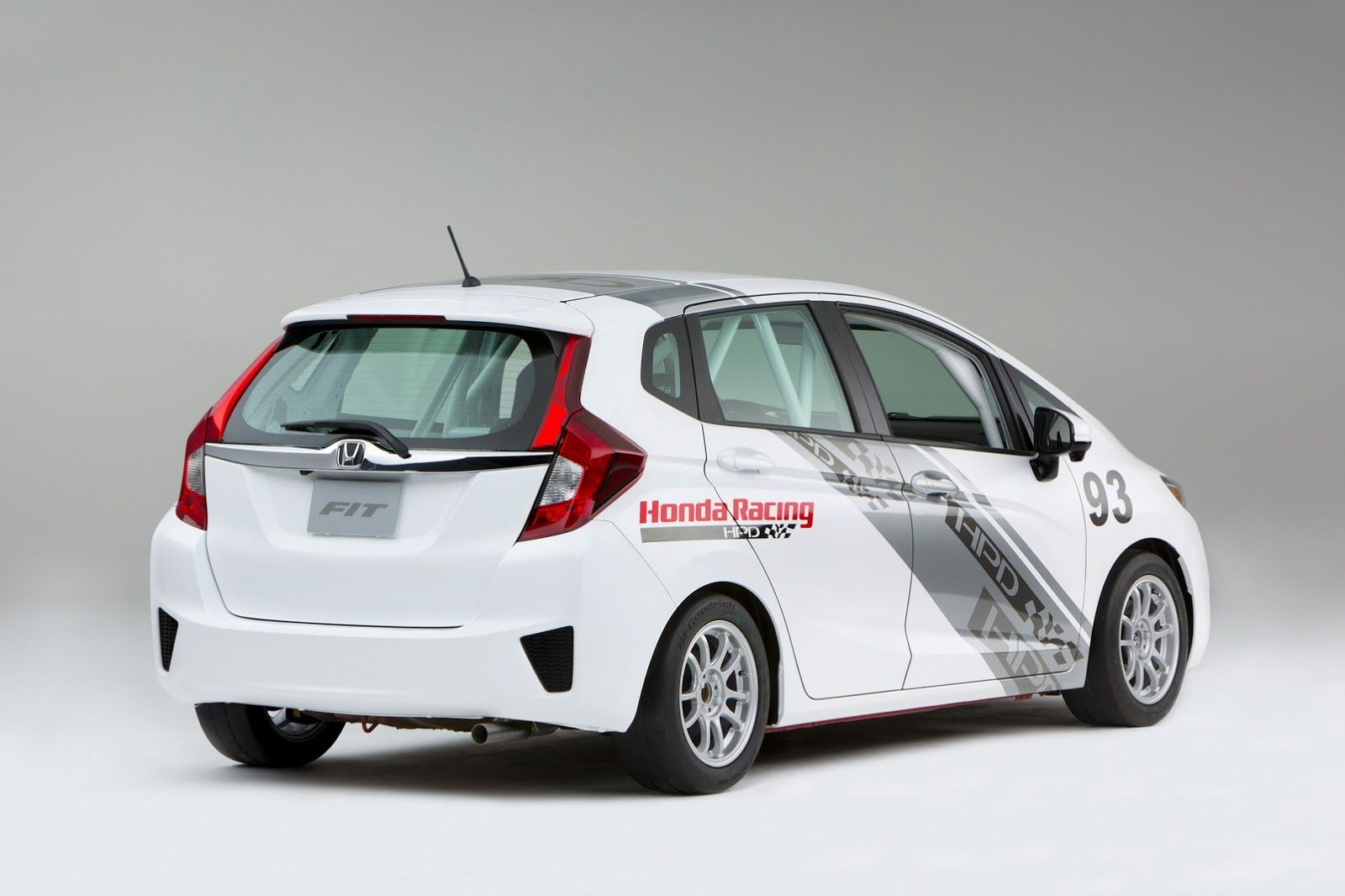 2015 honda fit hpd b spec concept race car rear three quarter