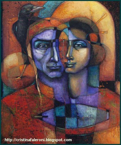 Modern Art Inspired By Dante 39