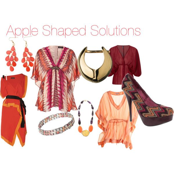 """""""Apple Shaped Solutions"""" by ladybizness on Polyvore"""