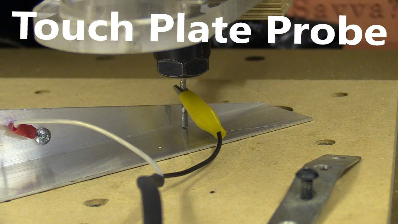 Simple Touch Plate Probe / Build and Use on bCNC | CNC in