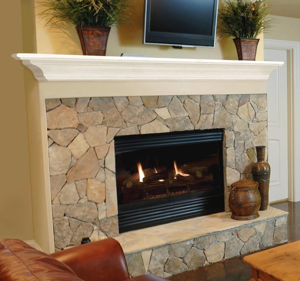 Pearl Mantels Crestwood Fireplace Mantel Shelf In White Paint Fireplace Mantel Shelf Fireplace Mantels Fireplace