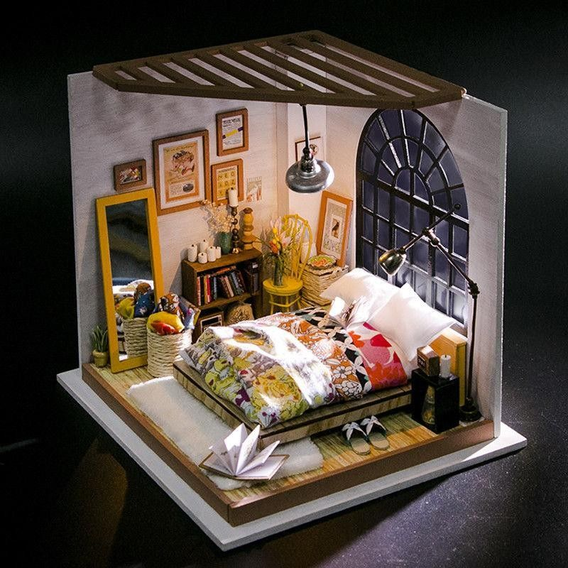 Pin by Bazaarture on Decoration Diy dollhouse, Wooden