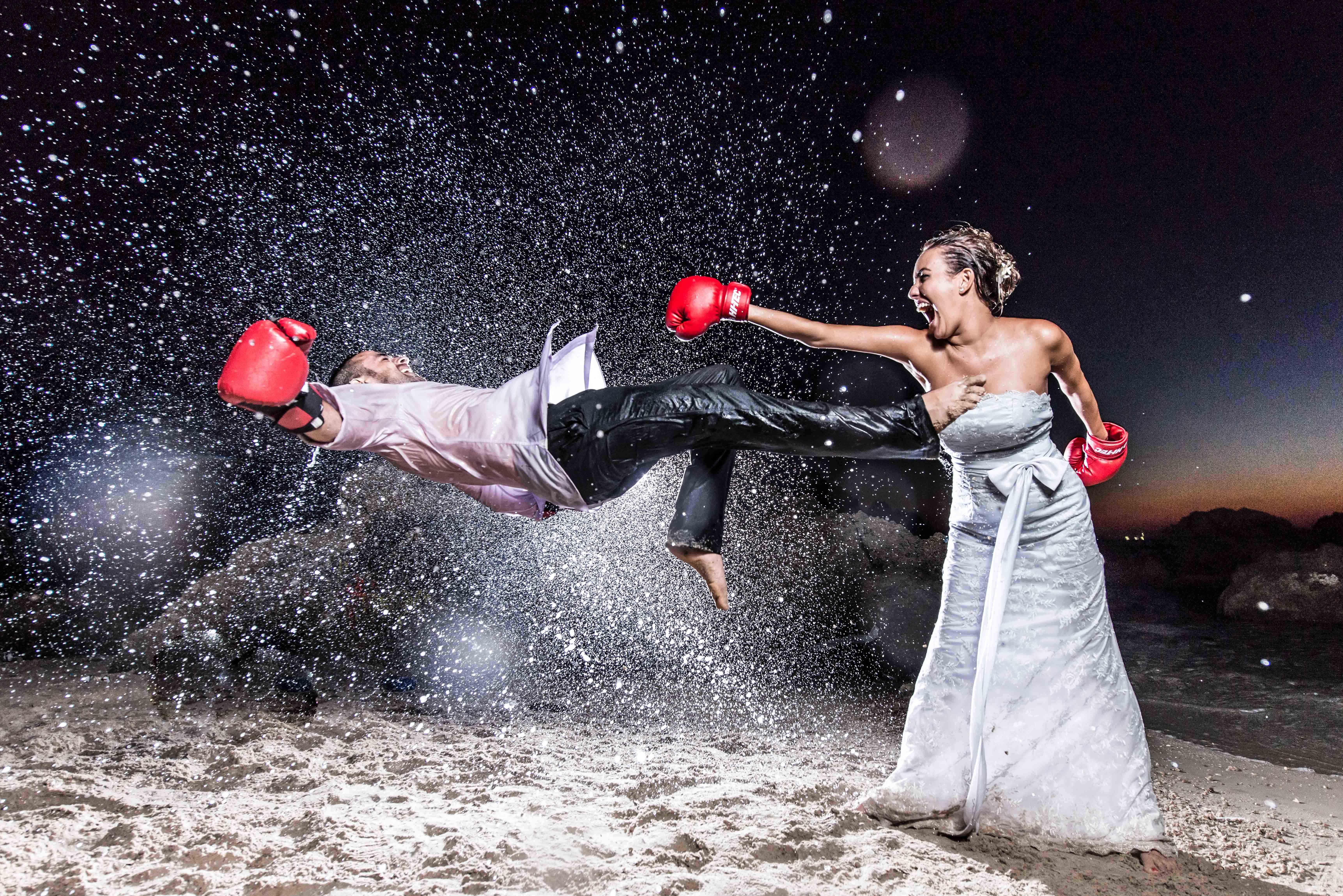 Wedding dress boxing  yaniv sofer photography yanivsofer on Pinterest
