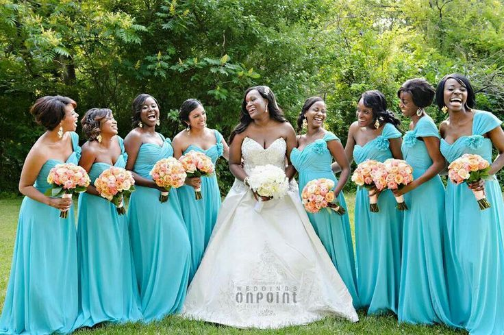 Pinterest Bridal Design In Orange And Tiffany Blue Orange And