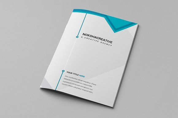 Bi Fold Brochure By Creative Mine On Creativemarket  Brochure