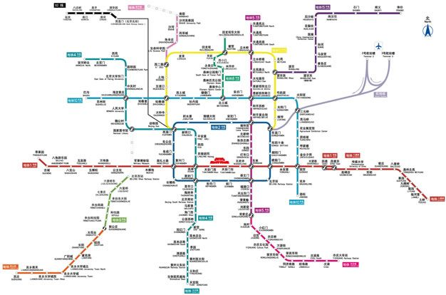 Beijing Tour Maps Tourist Map of Beijing Beijing Free Maps