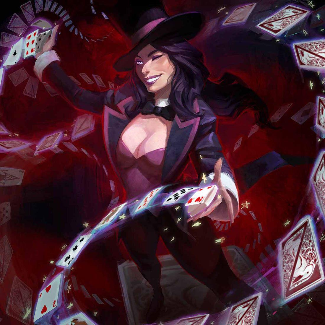 Zatanna From Infinite Crisis Dc Comics Heroes Dc Comics Wallpaper Female Comic Characters