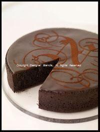 Chocolate Torte Photography idea