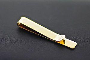 Clear Jewel /& Black Silver Tone Tie Clip Men/'s Vintage Tie Bar Nice Design Gift for Boyfriend
