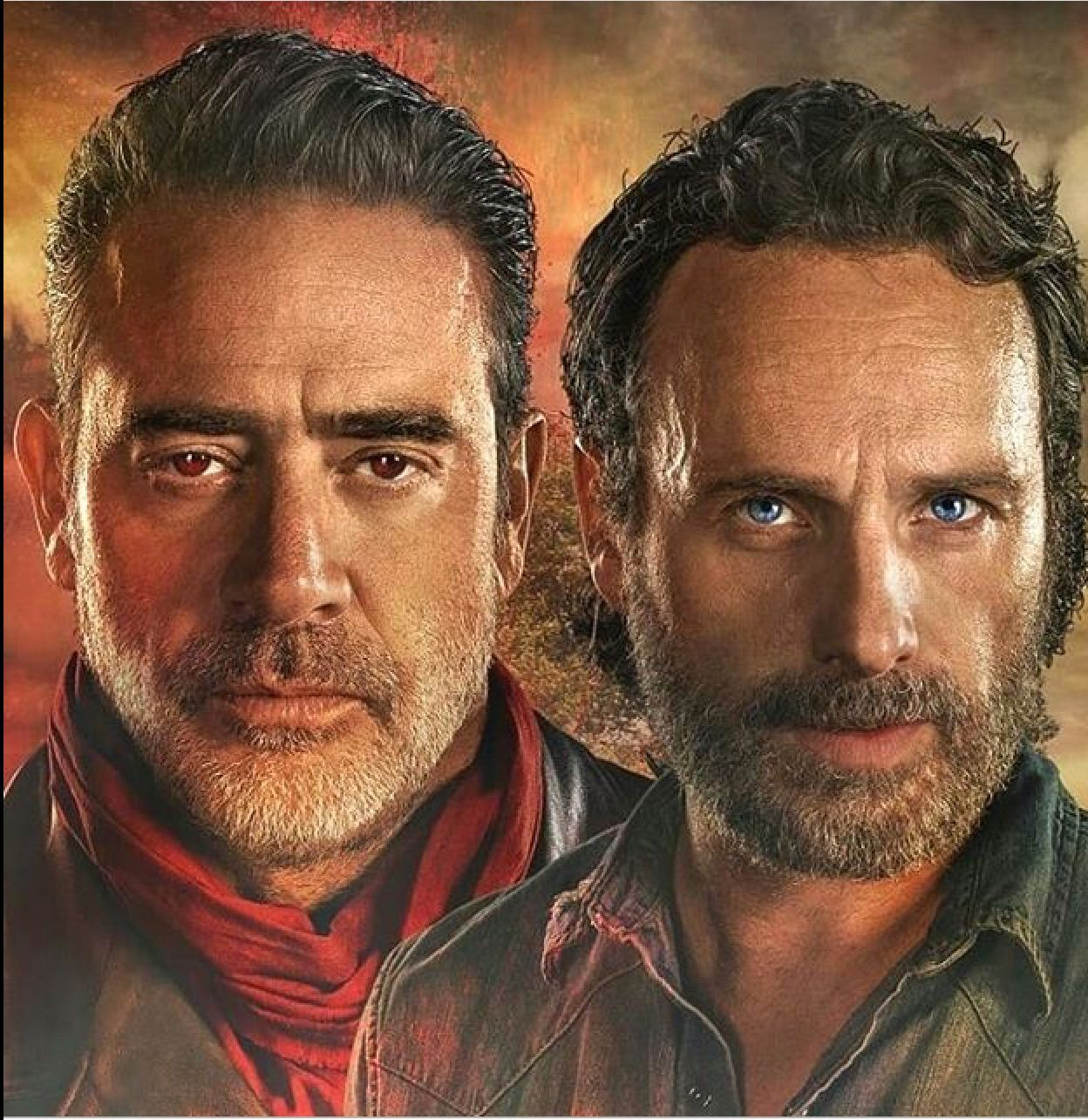 RICK & NEGAN | The Walking Dead (AMC)