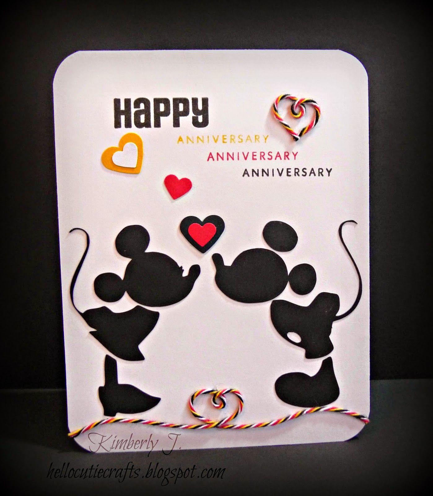 Kimberly S Crafty Spot A Trendy Celebration Anniversary Card Cricut Anniversary Card Anniversary Cards Homemade Birthday Cards