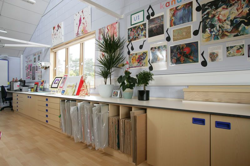Specialist UK manufacturer and supplier of Fitted furniture  Warwick  Preparatory School from David Bailey Furniture Systemshigh school art room design   Google Search   ideal art room  . Artist Studio Furniture Uk. Home Design Ideas