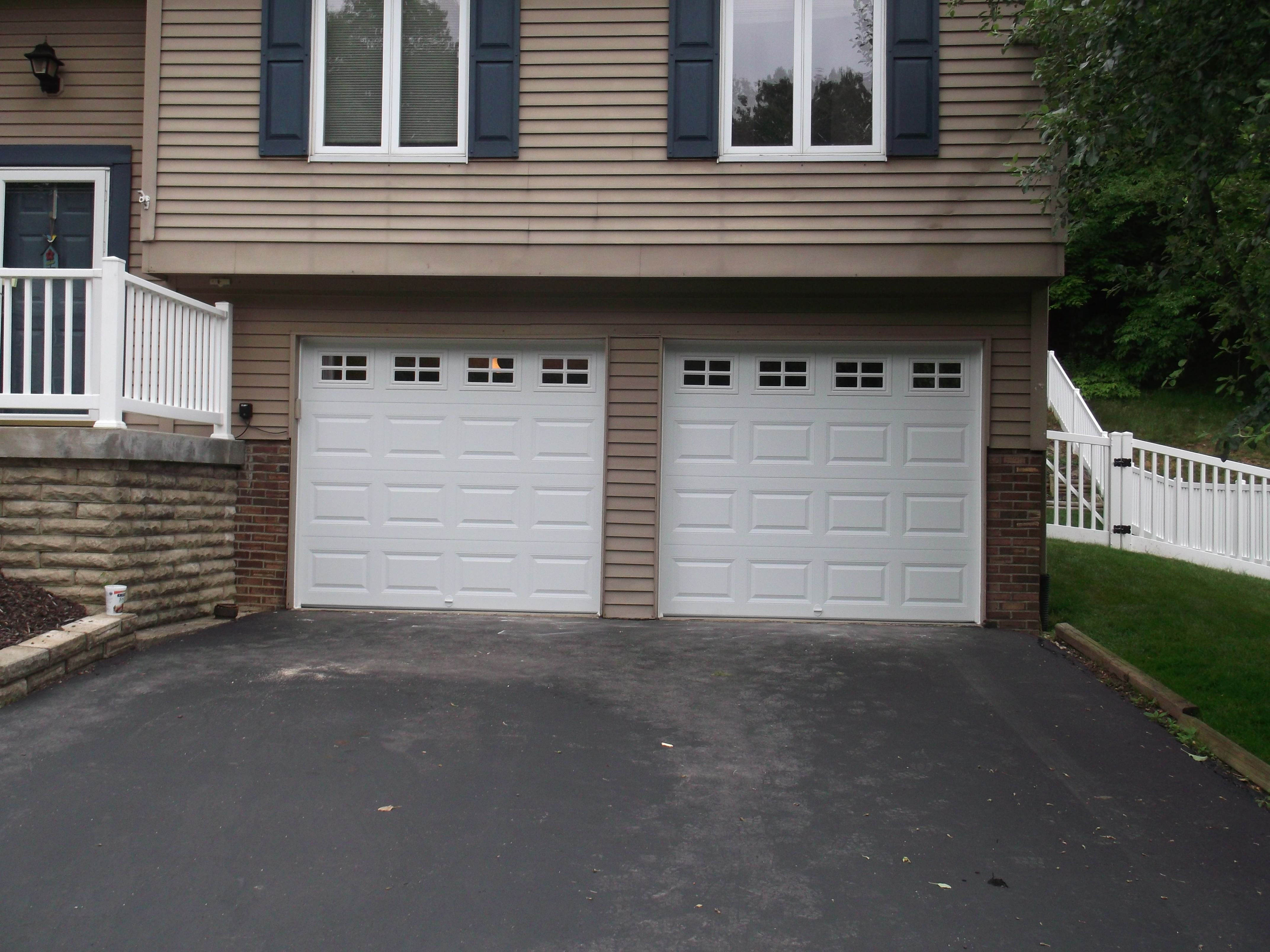 Chi 2206 Garage Doors Installed Near Pittsburgh By Thomas V Giel