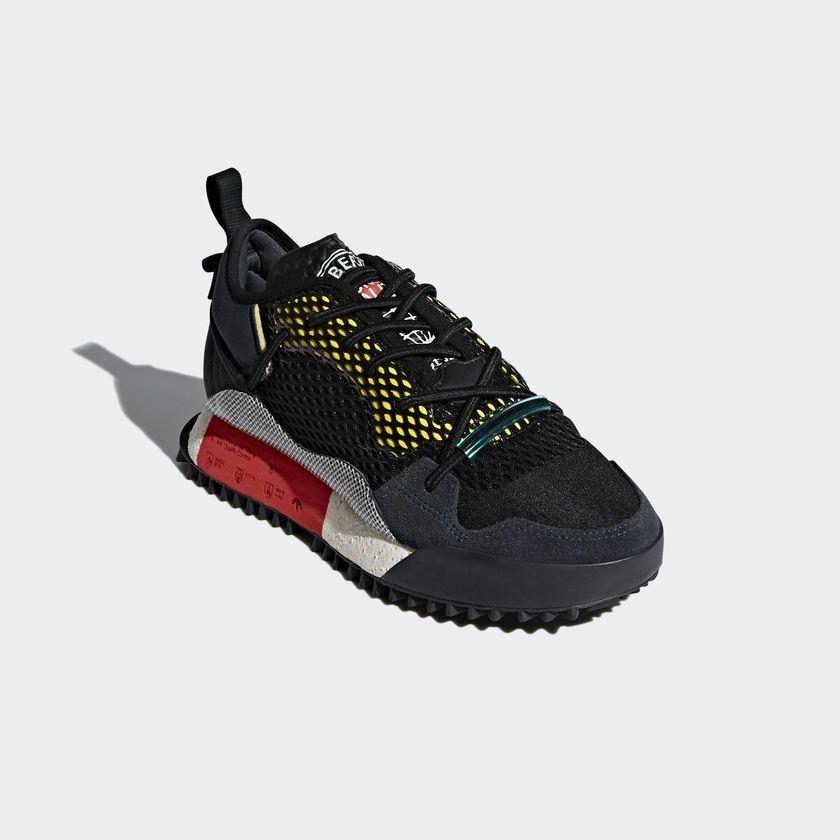 adidas Originals by Alexander Wang Run Mid Schuh schwarz