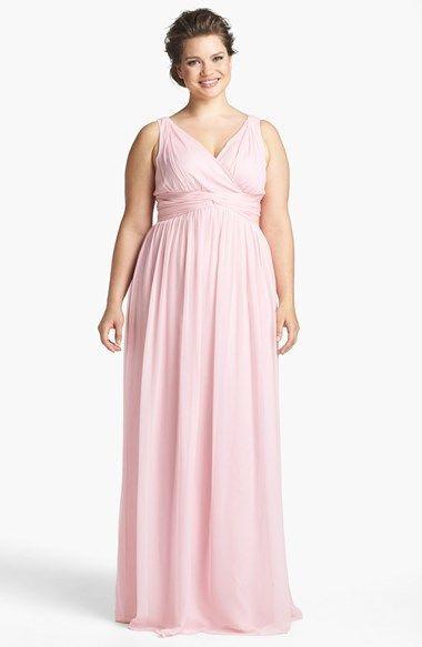Modelos de vestidos de noche tallas extras