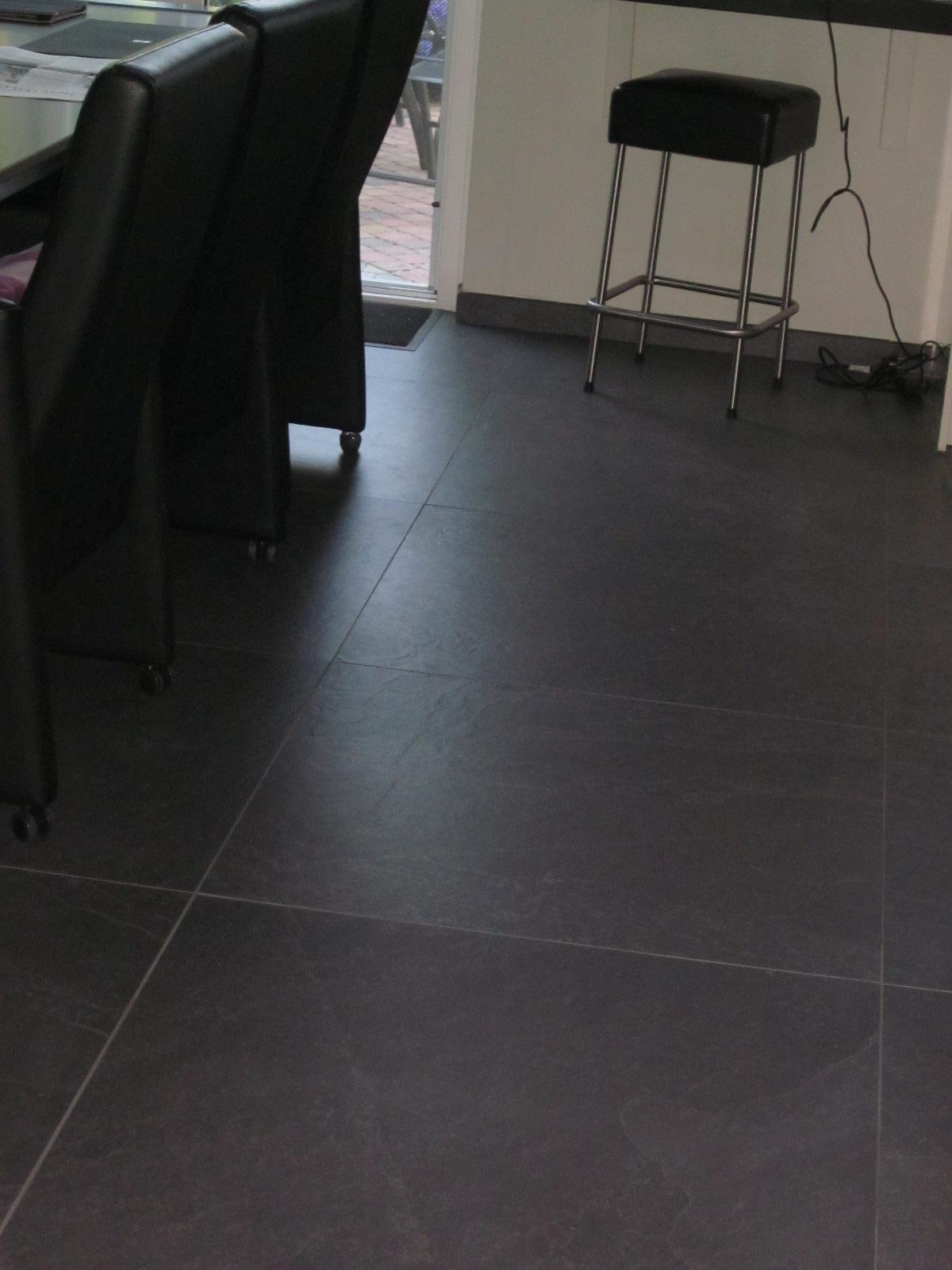 Antraciet Tegel 80x80.Gave Keramische Leisteen Tegels 80x80 15 Tegelhuys Vloeren