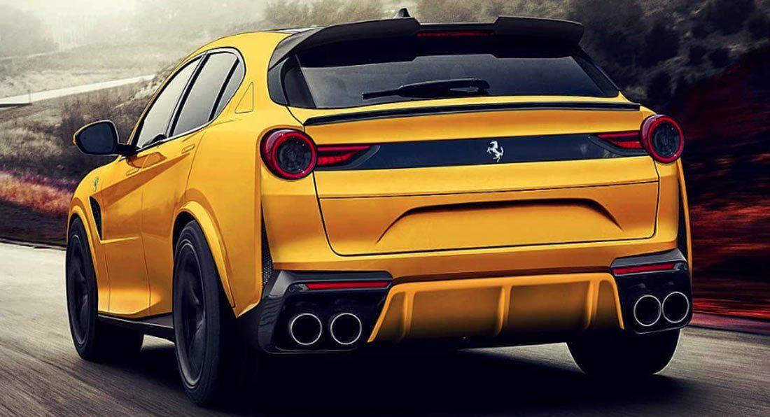 Would You Be Pleased If The Ferrari Purosangue Suv Looked Like This Carscoops Ferrari New Ferrari Suv Cars