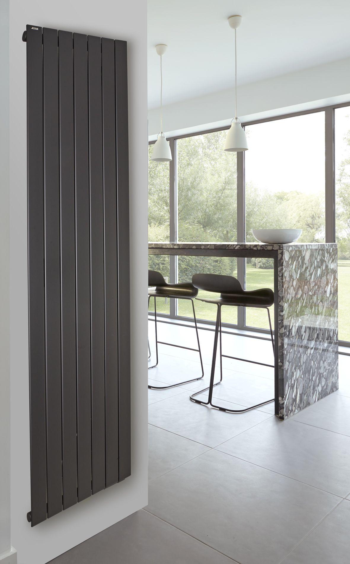 Acova Garantie pour ce radiateur acova fassane premium noir met en valeur les matériaux