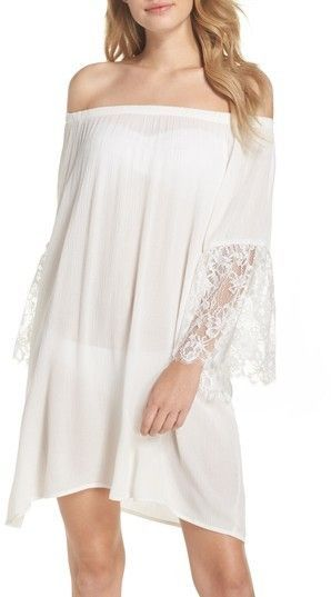 b967127712a8a Chelsea28 Women's Off The Shoulder Cover-Up Dress   Products ...