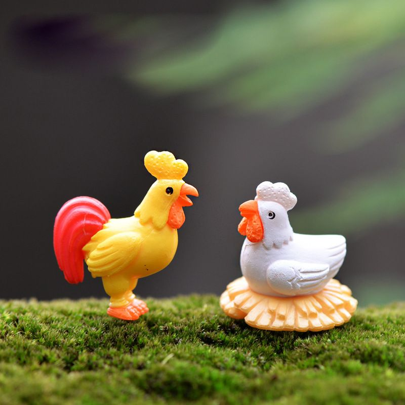 Fairy Garden Miniatures Gnomes Moss Terrariums Resin Figurines For Home Decor SK