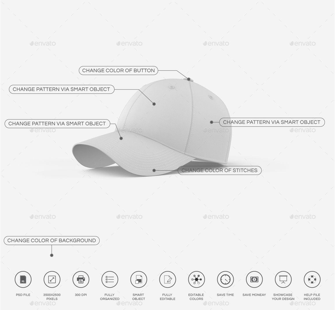 Download Baseball Cap Mockup Affiliate Baseball Affiliate Cap Mockup In 2020 Baseball Cap Baseball Cap