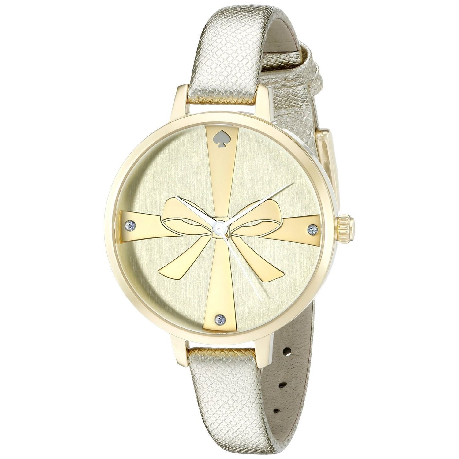 Kate Spade Women s 1YRU0878  Metro Wrapped Up  Crystal Watch ... 6bed68a966