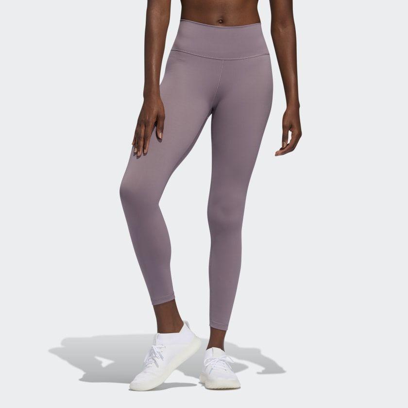 adidas leggings lila