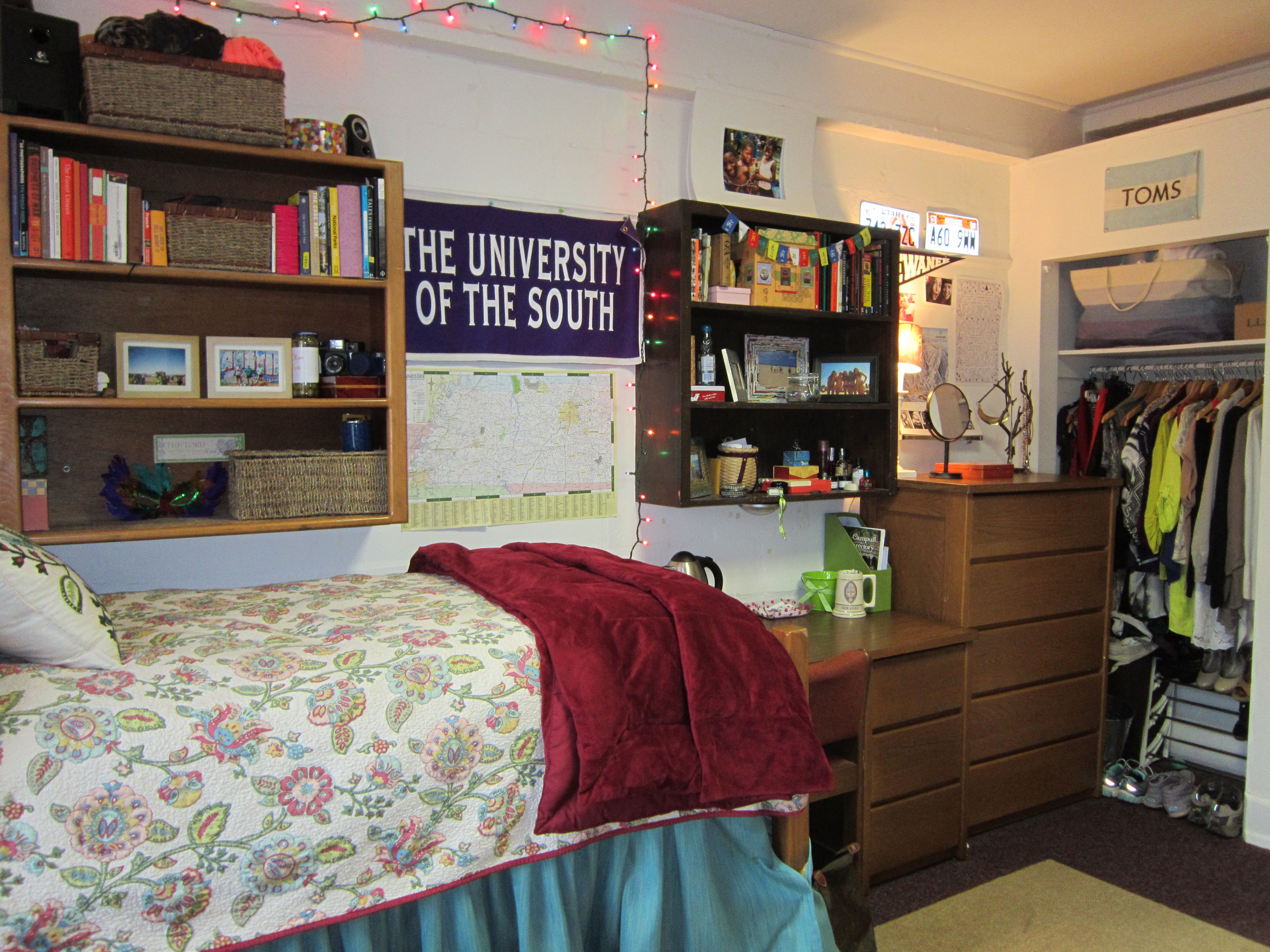 Gorgas Hall Dorm Room At The University Of The South   Sewanee Part 67
