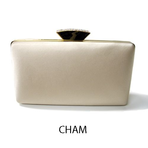Clutch color champagne