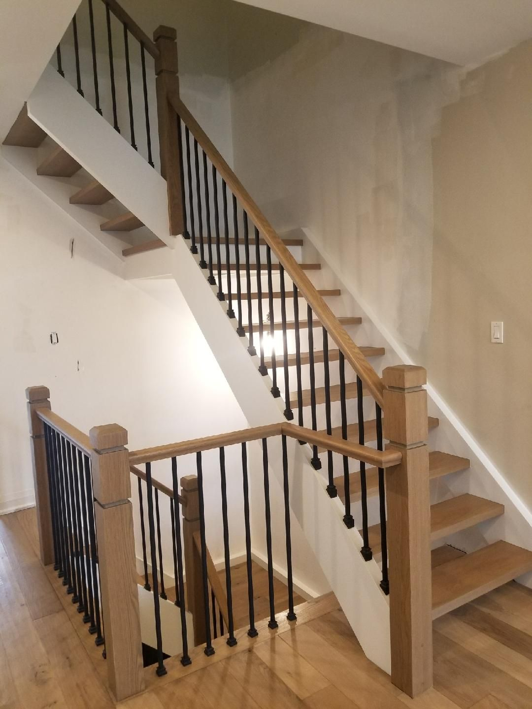 Best Refinished Staircase Www Grandfloors Ca Refinish 400 x 300