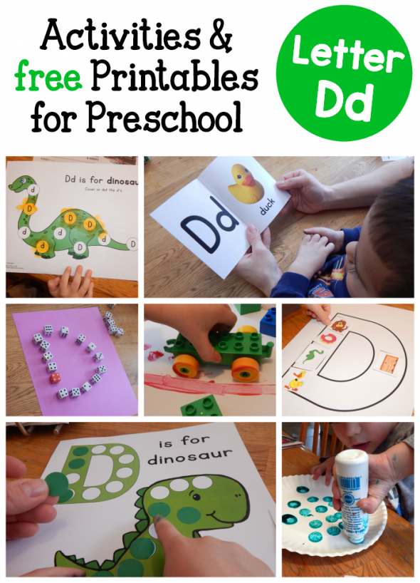 Letter D Activities for Preschool Letter of the week