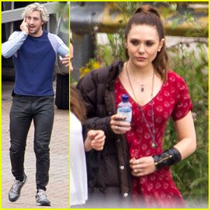 Aaron Taylor Johnson And Elizabeth Olsen Elizabeth Olsen
