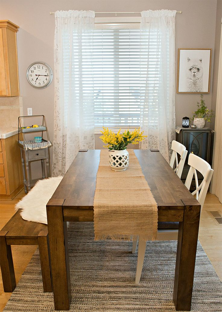 Better Homes Gardens Bryant Dining Table Rustic Walmart Com Kitchen Decor Dining Table Rustic Kitchen Remodel