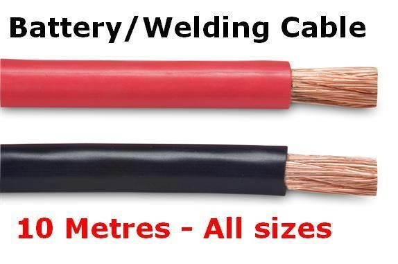 10m Red Black Battery Welding Cable 16mm 95mm Flexible Marine Boat Wire Ebay Welding Cable Welding Cable