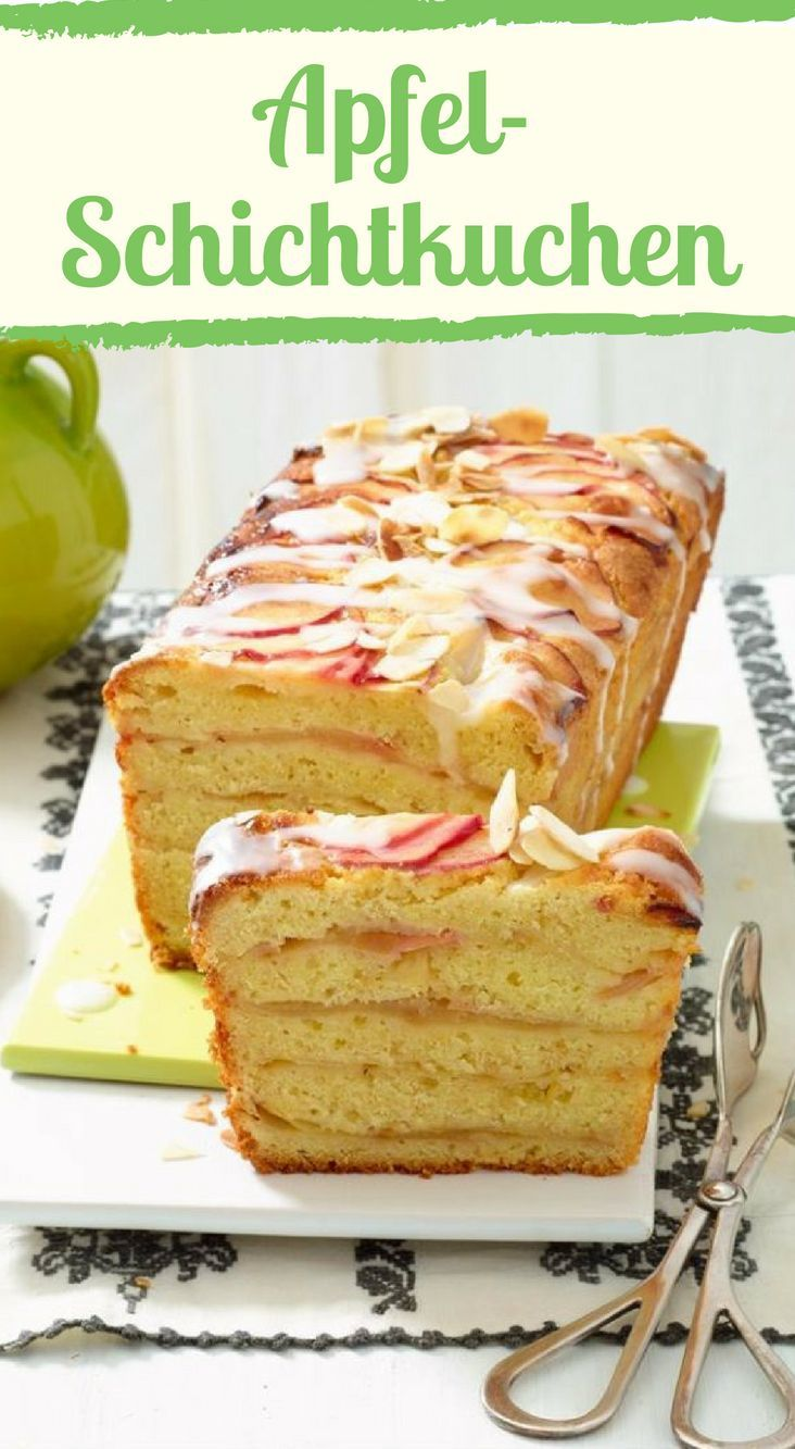 Saftig und lecker: Der Apfel-Schichtkuchen #applechips