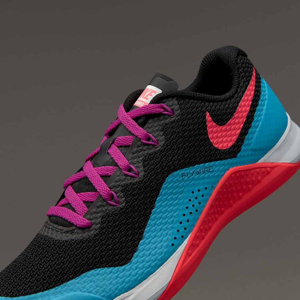 d9d08954ed875 Nike Womens Metcon Repper DSX - Black/Racer Pink-Chlorine Blue ...