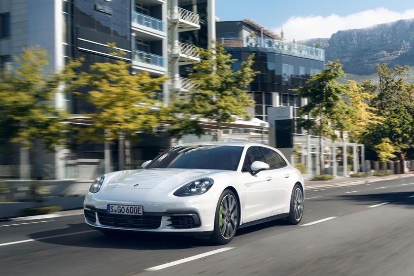2020 Porsche Panamera EHybrid Sport Turismo Front View