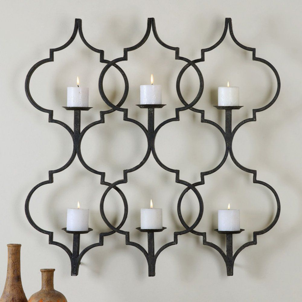 Candle wall sconce home decor pinterest wall sconces walls uttermost zakaria candle wall sconce the uttermost zakaria candle wall sconce dresses any wall in your home in old world style with a touch of modern amipublicfo Gallery