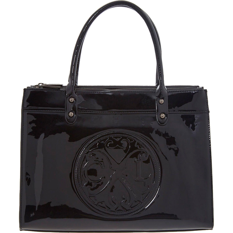 Lacroix Black Patent Tote Bag Tk Ma High Fashion