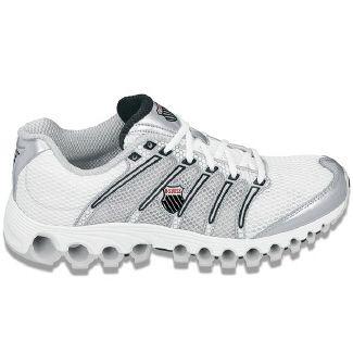 K-Swiss Tubes Run 100 Shoes (Wht/Silver