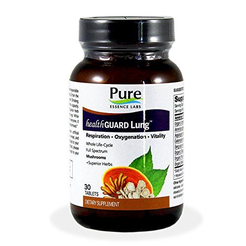 Pure Essence Labs HealthGuard Lung Respiration Oxygenation