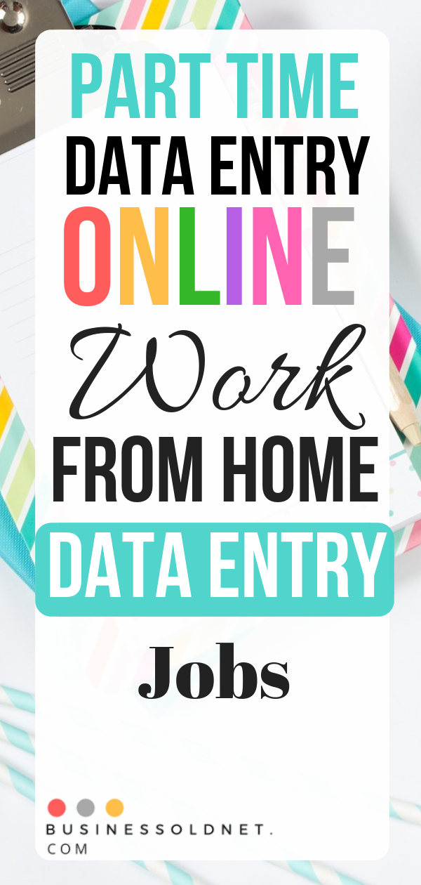 21 Best Data Entry Online Jobs From Home And Get Paid Online Jobs From Home Online Work From Home Data Entry