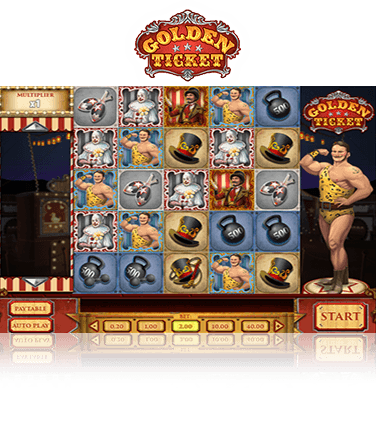 Review and free demo of The Golden Ticket ideo slot by