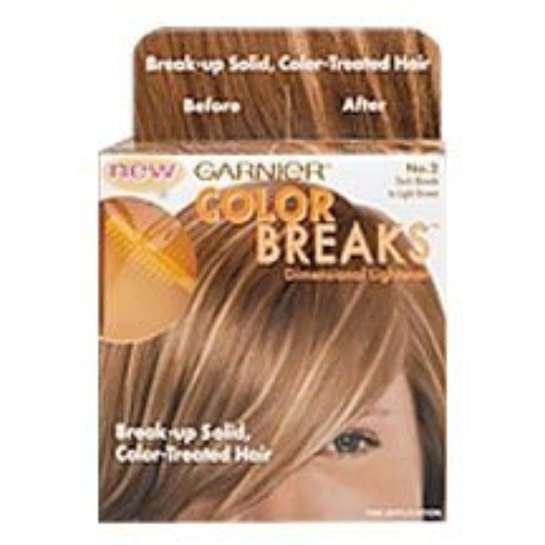 Garnier Color Breaks Dimensional Lightener, No. 1 Light