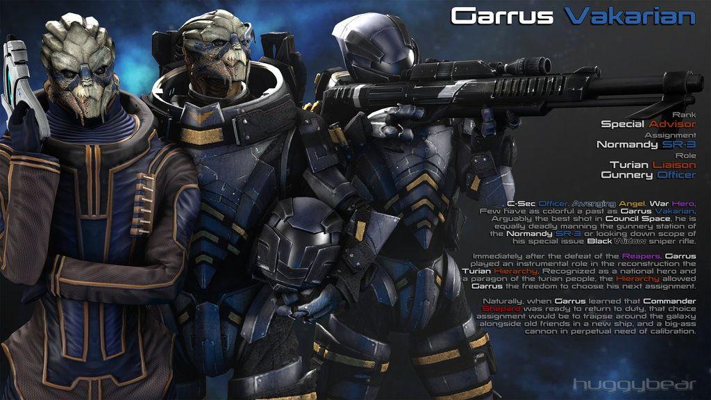 Afterword - Garrus By HuggyBear742 On DeviantArt